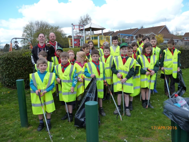APRIL 2016 LITTER PICKING