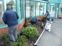 Hook in Bloom planting at Community Centre April 2016 8